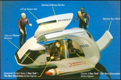 Star Trek The Next Generation Shuttlecraft Galileo