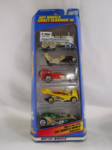 Hot Wheels Crazy Classics Iii 5 Vehicle Gift Pack (1998)