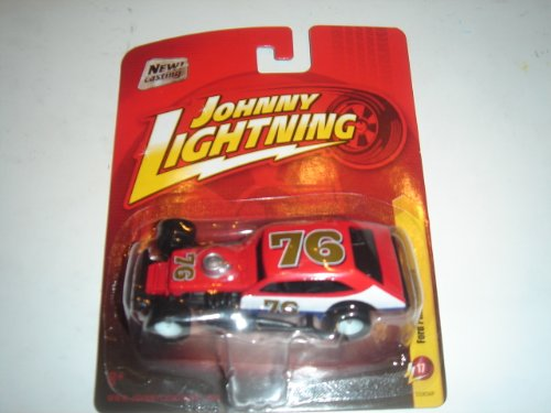 2011 Johnny Lightning R17 Ford Pinto Modified Red/White (New Casting) By Learning Curve
