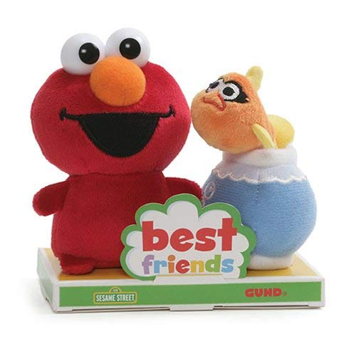 Gund Sesame Street Elmo And Dorothy Bff Plush Set