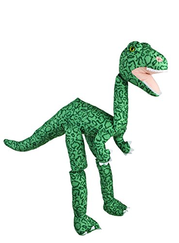Sunny Toys 38  Large Dinosaur Green Tie-Die Marionette