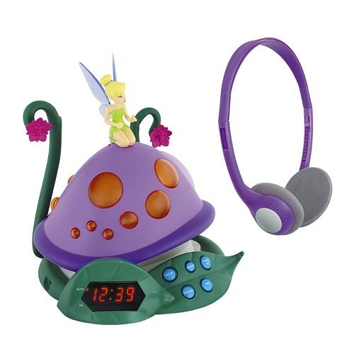 Disney Fairies Tinker Bell And The Lost Treasure Alarm Clock Radio
