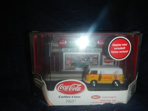 Matchbox Collectibles Coca Cola Collection 1967 Volkswagen Delivery Van W/Store Front