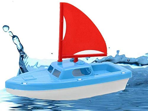 Toy Boat For Bath Tubs, Swimming Pools, Beaches... Cruise In Your Imagination... Adorable Children'S Realistic Speed Boat.