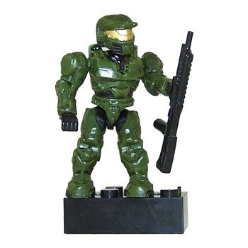 Mega Bloks Halo Wars Series 5/5.5 Unsc Green Spartan Common