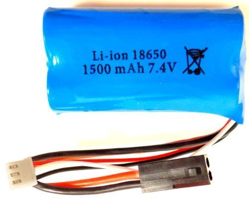1X Battery 7.4V 1500Mah For Mjx F39 T40C / T6 T6400 Rc Helicopter Parts F39-27