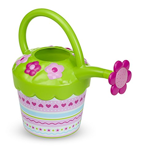 Melissa &Amp; Doug Sunny Patch Pretty Petals Flower Watering Can - Pretend Play Toy