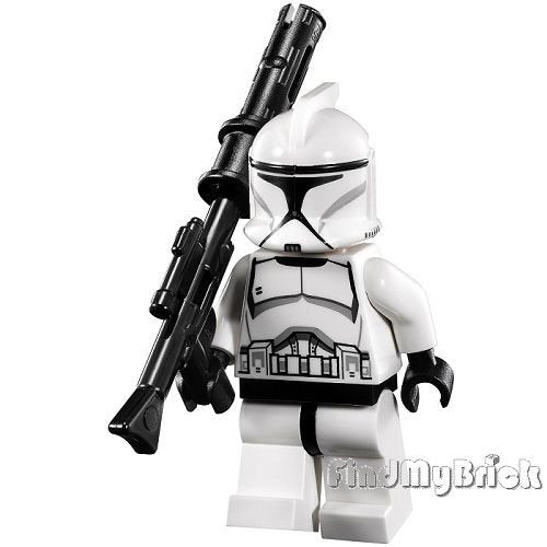 Lego Sw Episode Ii Clone Trooper Minifigure White