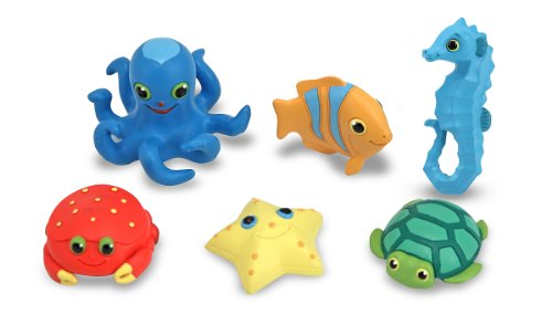 Melissa &Amp; Doug Sunny Patch Seaside Sidekicks Creature Set - Water Toys For Kids