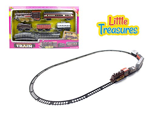 Little Treasures Sleek Style Design Train Play Set Toy