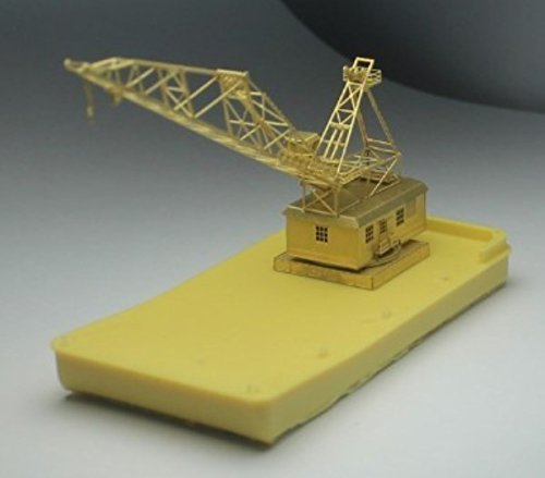 Alliance Model Works 1:700 Usn Yd-169 40T Floating Crane #Nw70038