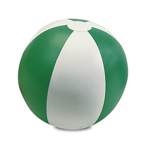 Ebuygb Inflatable Beach Ball, Transparent Green/White, 9