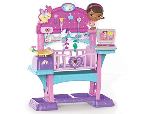 Doc Mcstuffins Baby Checkup All-In-One Nursery