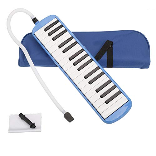 32-Key Melodica Musical Instrument With Blowpipe And Bag