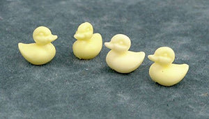 Dollhouse Miniature 1:12 Scale Set Of 12 Yellow Ducks By Farrow Industries