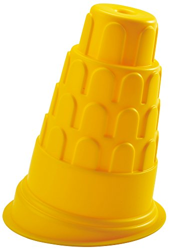 Hape Leaning Tower Of Pisa Kid'S Sand Mold Beach Toy