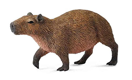 Collecta Woodlands Capybara Miniature Toy Figure - Authentic Hand Painted Model
