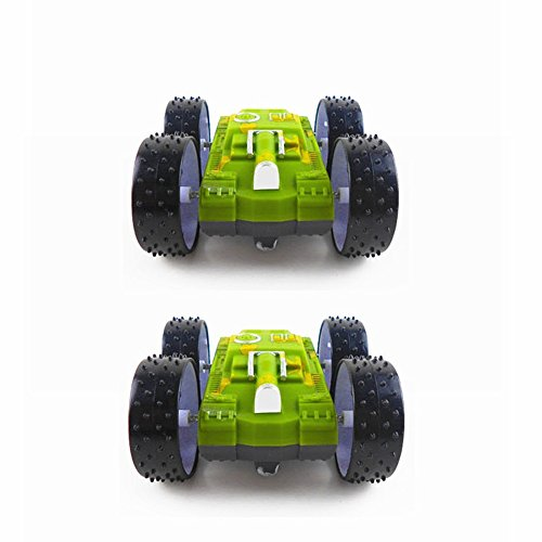 O-Toys Stunt Flip Car Off-Road Race Car Double Sided Tumbling Vehicle 360 Degree Spinning Toys For Kids Toddlers Boys Girls (Car)