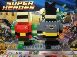 Lego Exclusive Batman And Robin Pickable Model 2012 June