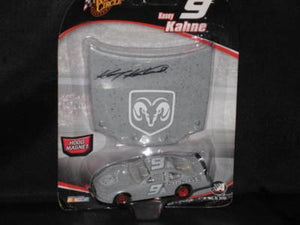 2005 Kasey Kahne #9 Dodge Charger Grey Test Car Winners Circle 1/64 With Matching Magnet Hood