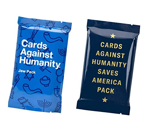 Cards Against Humanity Jew And Saves America Packs