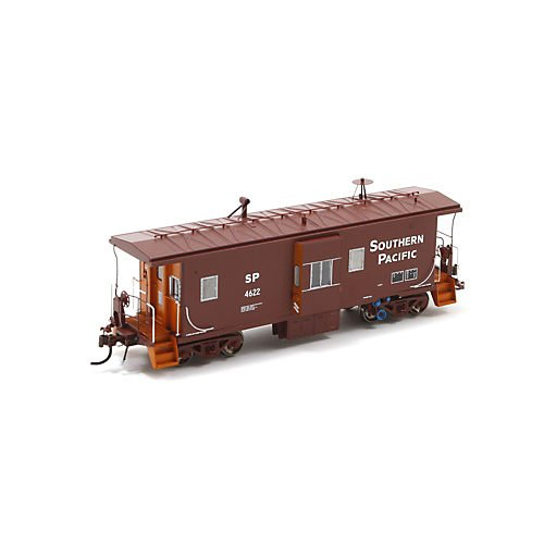 Athearn G63053 Ho Bay Window C-50-7 Caboose W/Lights, Sp #4622