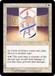 Circle Of Solace (Magic The Gathering : Onslaught #13 Rare)