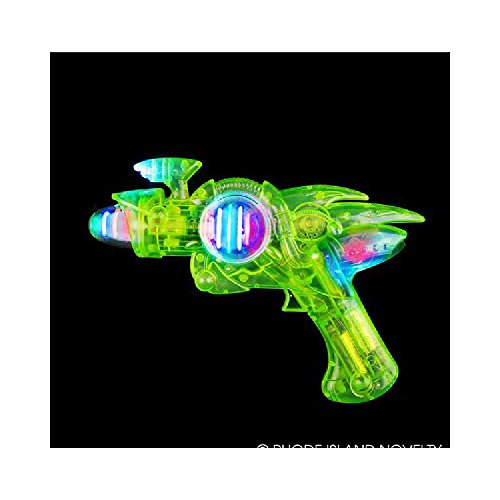 11  Blacklight Reactive Glow In Dark Space Blaster