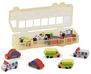 Ebuygb Car Shape Eraser Set