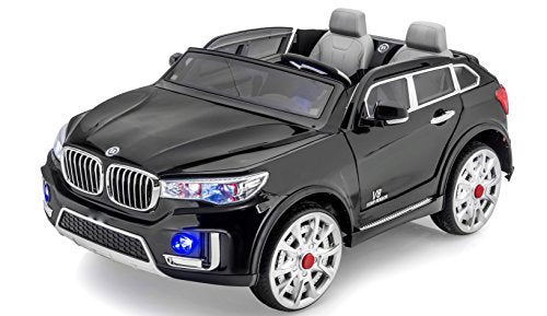 Stunning 2 Seater Heavy Truck Limousine 12V Battery Operated Ride On Car With  Led Wheels Music, Lights, Doors, Mp3 And Remote Control