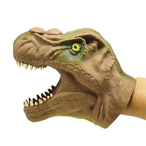 Toymytoy Dinosaur Hand Puppet Soft Tyrannosaurus Role Play Toy For Kids
