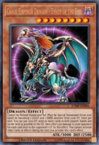Yu-Gi-Oh! - Chaos Emperor Dragon - Envoy Of The End - Jump-En086 - Shonen Jump Promos - Limited Edition - Ultra Rare