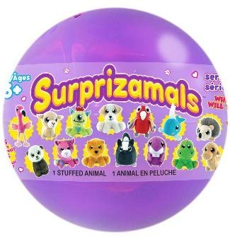 Surprizamals Series 7 - Mystery Balls Wth Collectible Plush Toy- Series 7