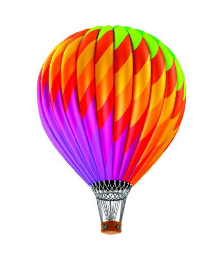 Top Selling Decals - Prices Reduced : Daycare Classroom Hot Air Balloon Colorful Kids Children Boys Girls Bedroom Living Room Picture Art Graphic Design Image Mural Size : 20 Inches X 40 Inches - Vinyl Wall Sticker - 22 Colors Available