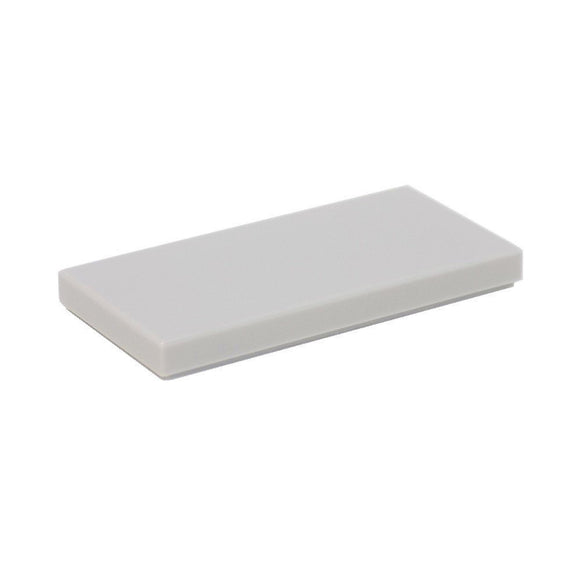 Lego Parts And Pieces: Light Gray (Medium Stone Grey) 2X4 Tile X50