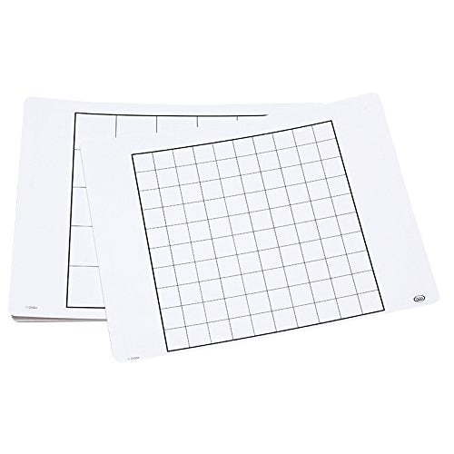 Didax Educational Resources Write-On/Wipe-Off# Array Mats Math Resource