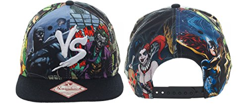 Batman Baseball Cap - Dc Comics Vs. Snapback Hat New Sb2Ta6Btm
