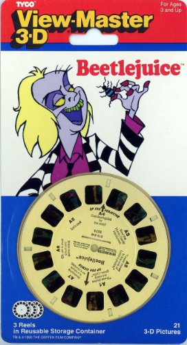 Bettlejuice - Classic Viewmaster 3Reel Set