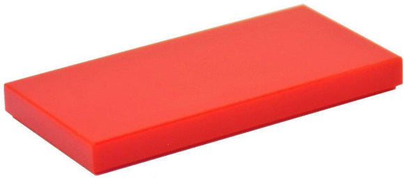 Lego Parts And Pieces: Red (Bright Red) 2X4 Tile X50