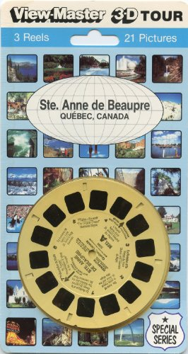 Ste. Anne De Beaupre (Quebec, Canada) - Classic Viewmaster 3Reel Set - 21 3D Images