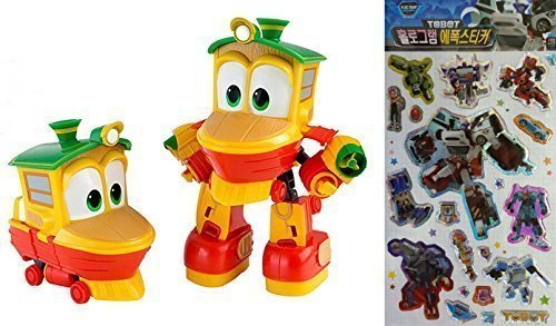 Animation Characters  Duck  Toy, Kids, Child, Korean Animation  Robot Train Transformer Train Robot Character