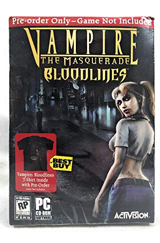 Vampire The Masquerade Bloodlines Tshirt