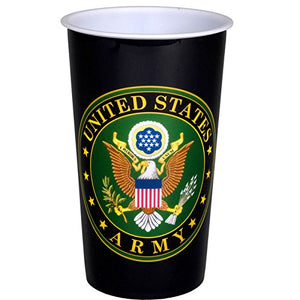 Havercamp Party Cup, United States U.S Army Logo, 20 Oz., Large, Us Army Party Collection