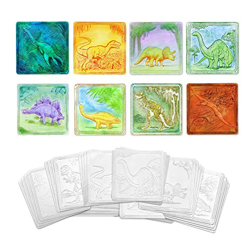 Creativity Street Dinosaurs Embossed Paper, 24-Pieces