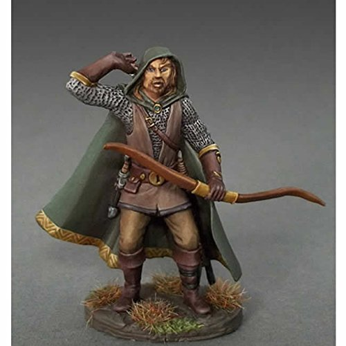 Male Ranger With Bow Miniature Easley Masterworks Dark Sword Miniatures