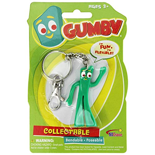 Play Visions Nj Croce Gumby Key Chain, 3