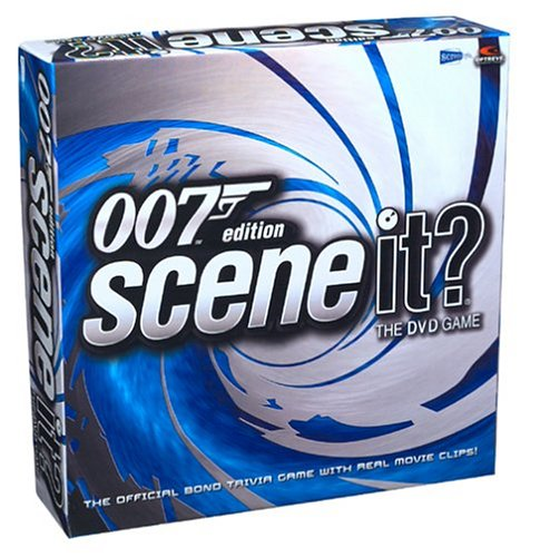Scene It James Bond Dvd Game