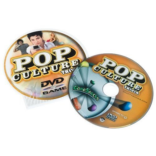 Game Snacks - Pop Culture Trivia Dvd Game