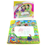 Coolplay 29 X 25.5  Colorful Musical Water Drawing Doodle Mat With 1 Magic Pen
