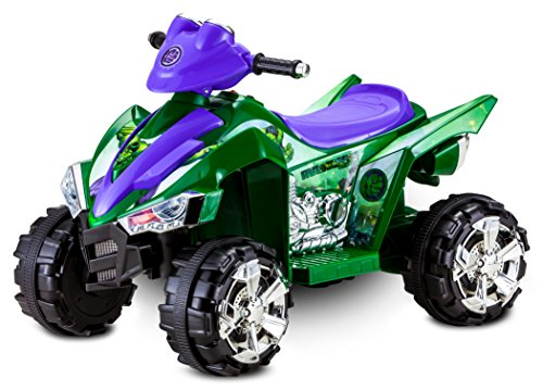 Kid Trax Hulk Atv 6V Electric Ride On, Green